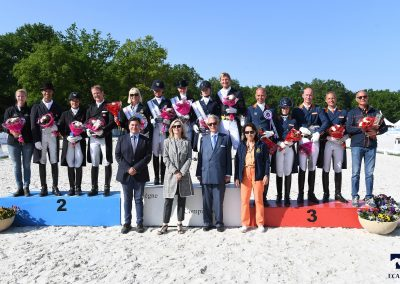 CDI_Compiegne - Remise des Prix FEI Nations Cup - SWE - DEN - NED ©Agence Ecary