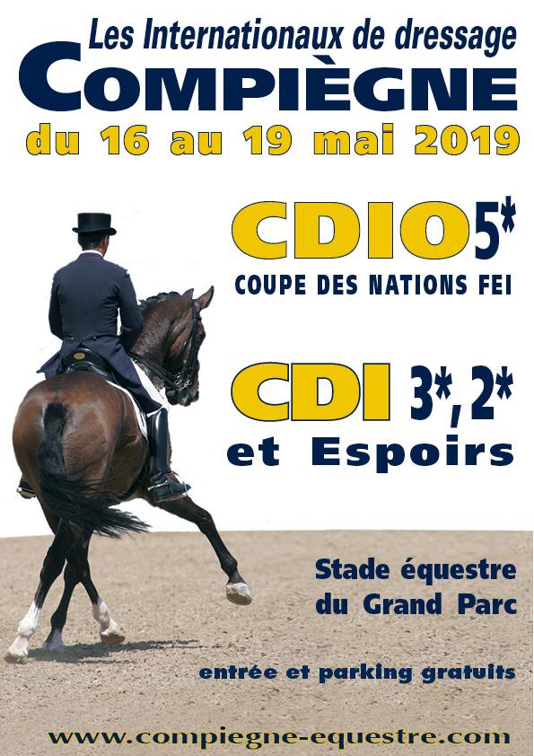 Affiche compiègne equestre